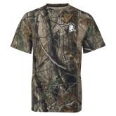 Realtree Camo T Shirt-Spartan Logo