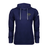 Adidas Climawarm Navy Team Issue Hoodie-Arched UNCG w/Spartan