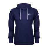Adidas Climawarm Navy Team Issue Hoodie-UNCG Shield