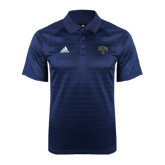 Adidas Climalite Navy Jaquard Select Polo-Arched UNCG w/Spartan