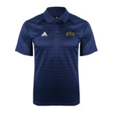 Adidas Climalite Navy Jaquard Select Polo-Arched UNCG