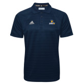 Adidas Climalite Navy Jacquard Select Polo-Lock Up