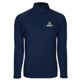Sport Wick Stretch Navy 1/2 Zip Pullover-Lock Up