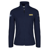 Columbia Ladies Full Zip Navy Fleece Jacket-2018 Mens Basketball Champions