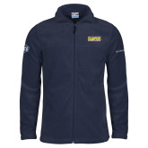 Columbia Full Zip Navy Fleece Jacket-2018 Mens Basketball Champions