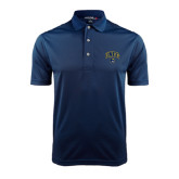Navy Dry Mesh Polo-Arched UNCG w/Spartan