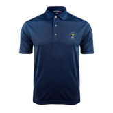 Navy Dry Mesh Polo-Spartan Head