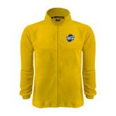 Fleece Full Zip Gold Jacket-UNCG Shield