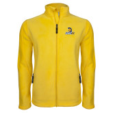 Fleece Full Zip Gold Jacket-Lock Up
