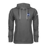 Adidas Climawarm Charcoal Team Issue Hoodie-UNCG Shield