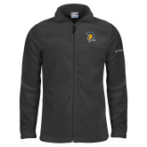 Columbia Full Zip Charcoal Fleece Jacket-Spartan Logo