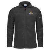 Columbia Full Zip Charcoal Fleece Jacket-Lock Up