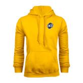 Gold Fleece Hoodie-UNCG Shield