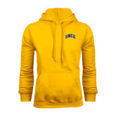Gold Fleece Hoodie-Arched UNCG