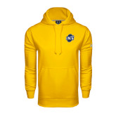 Under Armour Gold Performance Sweats Team Hoodie-UNCG Shield