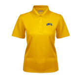 Ladies Gold Dry Mesh Polo-Arched UNCG