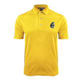 Gold Dry Mesh Polo-Spartan Head