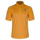 Gold Dri Mesh Pro Polo-Spartan Logo