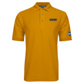 Gold Easycare Pique Polo-Baseball SoCon Champions 2017 Text