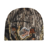 Mossy Oak Camo Fleece Beanie-UNCG Shield