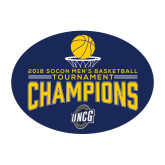Medium Magnet-2018 Mens Basketball Champions - Net w/ Basketball