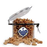 Cashew Indulgence Round Canister-UNCG Shield