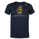 NIKE Navy Legend Short Sleeve Tee-