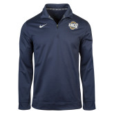 Navy NIKE DriFit Performance 1/4 Zip Top-