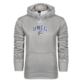 Dark Heather NIKE KO Hoody Pullover-