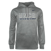 True Grey NIKE Heather Therma PO Hoody-