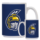 Full Color White Mug 15oz-Spartan Head