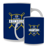 Full Color White Mug 15oz-2018 Baseball Regular Season Champions