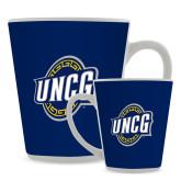 12oz Ceramic Latte Mug-UNCG Shield