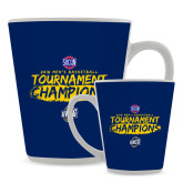 Full Color Latte Mug 12oz-2018 Mens Basketball Champions - Brush