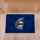 Full Color Indoor Floor Mat-Spartan Head