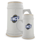 Full Color Decorative Ceramic Mug 22oz-UNCG Shield