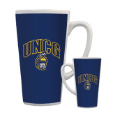 Full Color Latte Mug 17oz-Arched UNCG w/Spartan