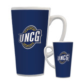 Full Color Latte Mug 17oz-UNCG Shield
