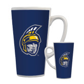 Full Color Latte Mug 17oz-Spartan Head