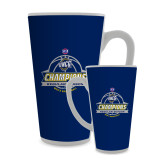 Full Color Latte Mug 17oz-2017 SoCon Regular Season Basketball Champions - Banner