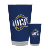 Full Color Glass 17oz-UNCG Shield