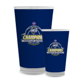 Full Color Glass 17oz-2017 SoCon Regular Season Basketball Champions - Banner