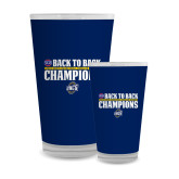 Full Color Glass 17oz-2018 Back to Back Regular Season Champions