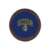 Round Coaster Frame w/Insert-Arched UNCG w/Spartan