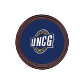 Round Coaster Frame w/Insert-UNCG Shield