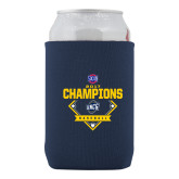 Collapsible Navy Can Holder-Baseball SoCon Champions 2017 - Diamond