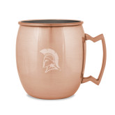 Copper Mug 16oz-Spartan Logo Engraved