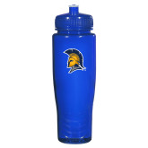 Spectrum Blue Sport Bottle 28oz-Spartan Logo