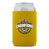 Collapsible Gold Can Holder-2017 SoCon Regular Season Basketball Champions - Arched