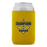 Collapsible Gold Can Holder-2017 SoCon Regular Season Softball Champions - Diamond